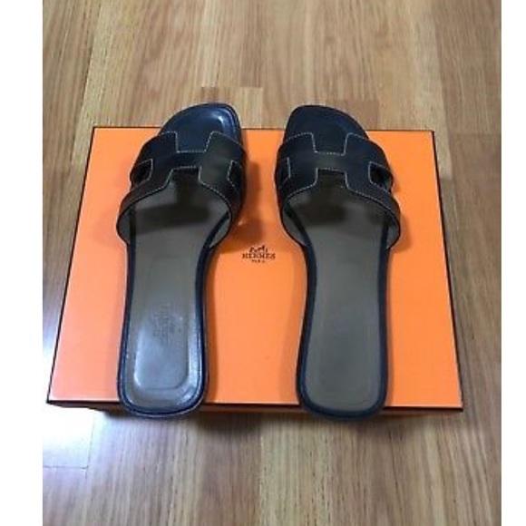 Sold Hermes Oran Sandals | Poshmark